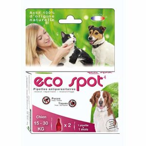 Agecom – Eco Spot Pipette Chien Moyen Eco Spot N°4 Chien Moyen