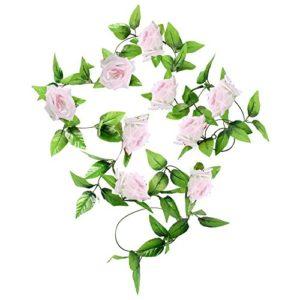 Amuster Romantique Artificielle Fleur de Feuille Maison Mariage Party Decor Fleur Artificielle de Haute qualité de rétro Couleur