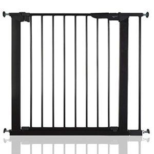 BabyDan Premier Bébé Barrière de Sécurité en pour Escalier Noir 79,6 – 86,5cm