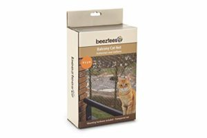 BEEZTEES Filet Transparent pour Balcon 6 x 3 m