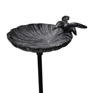 chemin_de_campagne Bain d'oiseaux Mangeoire Abreuvoir Pic à Oiseaux 100 cm