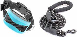 PROTECK Collier Anti-Aboiement Automatique pour Chien de 3 à 50 kg【Laisse + Ebook Offert】- Efficace & sans Douleur + Détection Intelligente + Etanche & Rechargeable