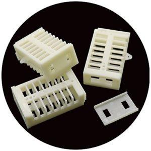 adhere to Fly 20Pcs multifonction Reine Cage d'abeille Match Box Mobile d'abeille abeilles Attrape-rêves Cage Apiculture Outil plastique