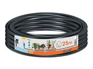 Claber 5081590365Tube en polyéthylène 1,3cm, 25m, noir