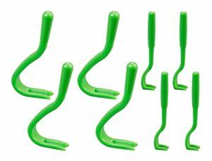 Gardigo – Set de 8 Tire-Tique; Pinces pour Tiques; Pincette/Crochet Doux; Tick Removal Tool; Pour Chiens Chats Cheval Hommes
