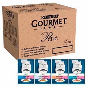 Gourmet 6X Délices De L'Océan dans des Sachets en Perle Sauce 96 X 85G