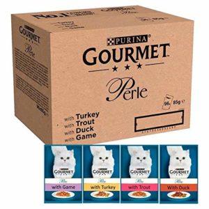 Gourmet 6X Medley Pays en Gelée Sachets Perle 96 X 85G