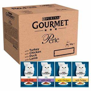 Gourmet 6X Perlena Gastronomique Chefs Collection dans des Sachets De Sauce 96 X 85G