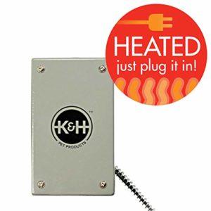 K&H Manufacturing K & H Fabrication Blottir Oiseau Chaud Gris