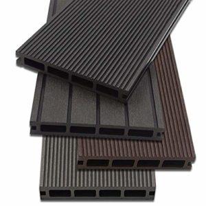 Planches de terrasse WPC Home Deluxe – 4 couleurs différentes – Plusieurs superficies disponibles
