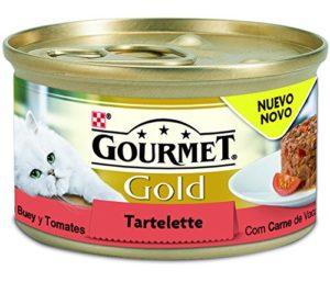 PURINA GOURMET GOLD Tartelette Boeuf et tomates – 90 g