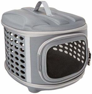 [80% de Réduction] Pet Magasin Transporteur d'animal de compagnie à couverture rigide pliable – Chenil de voyage portable pour chats avec toit et plancher en tissu