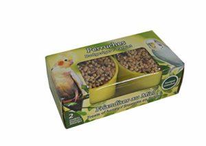Agrobiothers Godets Mélange Graines Grandes Perruches 22 G pour Oiseaux