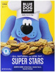 Bakery Super pour chien Bleu Étoiles assorties Friandises pour petit chien, 10-Ounce Boîtes (Lot de 6) par Bakery pour chien Bleu