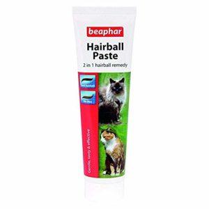 Beaphar Hairball Pâte pour Chats, 2en 1Hairball Remedy
