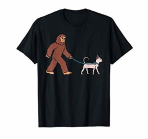 Bigfoot Chat Sphynx Animal De Compagnie T-Shirt