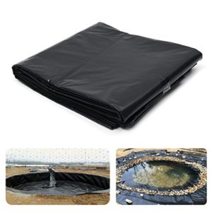 dDanke Durable extérieur Leakproof Poisson Piscine pour étang de Jardin Piscine en PVC d'aménagement paysager Membrane renforcé Anti-crevaison résistance (2.5x 2.5m/4x 3.5m) 2,5 x 2 m