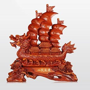 Décoration de Yifan Fengshun Dragon Cérémonie d'ouverture de la Décoration de Table de Bureau (Couleur : C, Taille : 56*24*60cm)