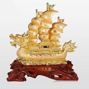 Décoration de Yifan Fengshun Dragon Cérémonie d'ouverture de la Décoration de Table de Bureau (Couleur : D, Taille : 56*24*60cm)