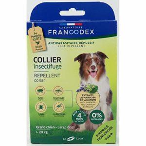 Francodex Francodex Collier De Chien Répulsif + 20 Kg