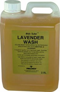 Gold Label lavande Lavage Cheval Equine jambe & Muscle 500 ml