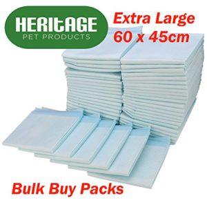 Heritage Pet Products Tapis d'apprentissage de la propreté pour chiot 60x45cm