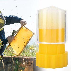 Jeffergrill Bouteille de Cage de Marquage de Marqueur d'abeille Durable pour la Reine
