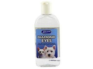 Johnson's Vet – Lot de 6 flacons Diamond Eyes (enlève les taches sous les yeux, nettoyant doux) – 125 ml