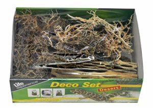 LUCKY REPTILE LDS-01 Décoration sèche pour terrarium Thème désert Matériaux naturels