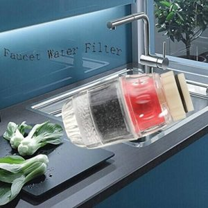 mark8shop carbone Robinet de cuisine maison purificateur d'eau propre Filtre cartouche