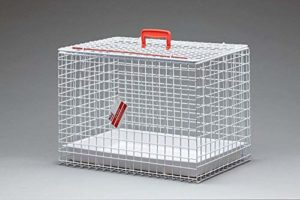 MDC Cage de transport métallique