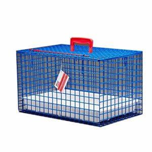 MDC Cage de transport métallique haute qualité pour chat/choix de 6couleurs exceptionnelles/métal recouvert de plastique,