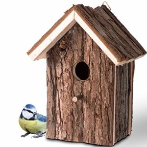 Nichoir pour Oiseaux Exterieur; Maison, Nid pour Oiseaux, Moineau, Mésanges en Bois, Extérieur; Décoration Jardin, Terrasse ou Balcon