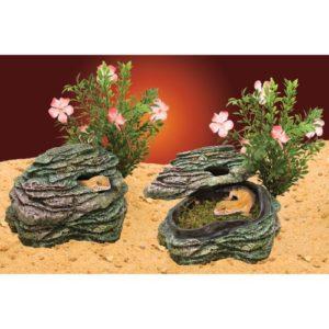 Penn Plax Reptile Déco Rocher Refuge Petit Modèle