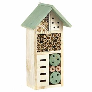 Pet Ting Nid d'Abeille en Bois Naturel 26 cm