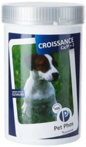 Pet-Phos Croissance (Ca / P 2) 1 Boîte 500 Capsules