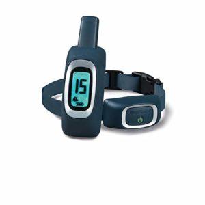 PetSafe – Collier de Dressage pour Chien 300 m, Rechargeable, Etanche, Ton/Vibration, 15 niveaux de Stimulation électrostatique