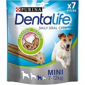 PURINA DENTALIFE Lot de 5 boîtes de Soin Dentaire pour Petit Chien 5 x 115 g
