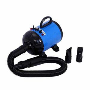 Séchoir De Toilettage Professionnel pour Séchoir De Toilettage pour Chien De Compagnie Séchoir pour Chien 220V / 110V 1200W,Blue