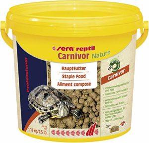 Sera Reptile – Aliment Professionel pour les reptiles carnivores – 3.8 l
