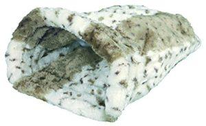 Trixie 3695 Leika Sac de Couchage pour Chat 25 x 27 x 45 cm (Blanc/Beige)