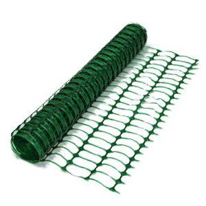 True Products B1002a 7kg 50m lourd Rouleau de barrière en maille filet de clôture en plastique–Vert