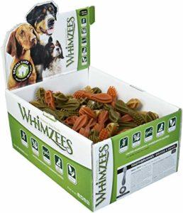 Whimzees – Friandise pour chien – Brosse à dents – Etoile – Medium – 75 pièces
