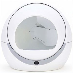 WTY Bac à litière entièrement Automatique, Grand bac à litière – Nettoyage par Induction – approvisionnements déodorants pour Animaux domestiques Anti-éclaboussures pour Chats, faciles à Nettoyer.