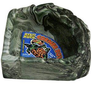 Zoo Med Repti Rock Corner Abreuvoir pour Reptile/Amphibien Taille S
