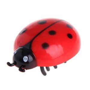ZOUCY Chat Jouets Teaser Interactive Beetle Pet Cicada Auto Marche électrique Insecte Mini