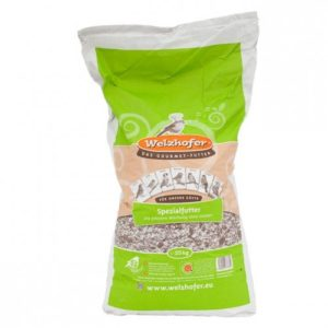 Aliment spécial Welzhofer pour oiseaux–Sans peau–Sac de 25kg en papier et en polyéthylène