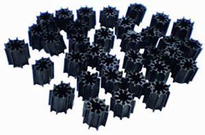 AquaForte Filtre de bioringe 30 x 30 mm Vert