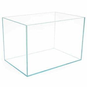 Aquarium en verre ultra transparent pour poissons – Disponible en 2 versions : 90 Litres (60 cm) et 140 litres (80 cm).