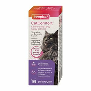 Beaphar – Catcomfort, Spray anti stress aux Phéromones, format voyage – Chat – 30 ml